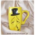 kubki ceramiczne męskie pan kotwiczka  żółty