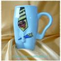 Kubki ceramiczne męskie Krawat niebieski