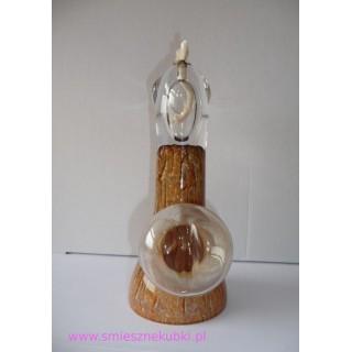 Lampa olejna - artystyczne - zabawny prezent - ciemny beż