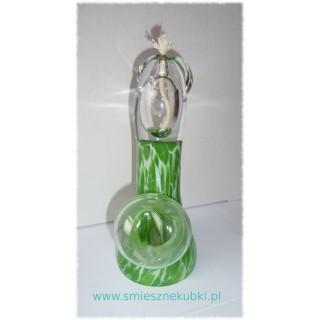 Lampy olejne - zielona